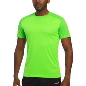 T-shirt tecnhique runnek edel green fluorine