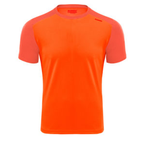 T-shirt tecnhique runnek edel orange fluorine