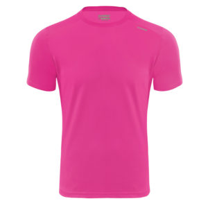 T-shirt tecnhique runnek code ELECTRIC FUCHSIA