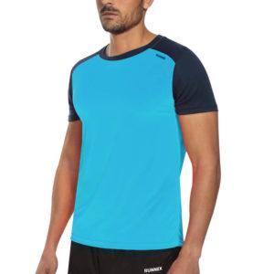 T-shirt tecnhique runnek limit Turquoise