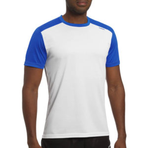 T-shirt tecnhique runnek milos white blue