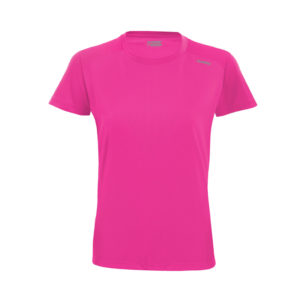 T-shirt tecnhique runnek code ELECTRIC FUCHSIA woman