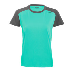 T-shirt tecnhique runnek limit aquamarine woman