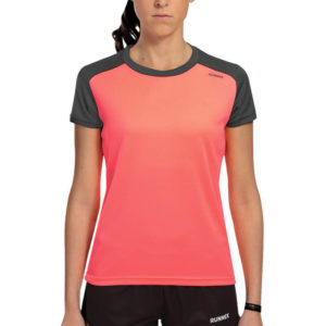 T-shirt tecnhique runnek limit coral woman