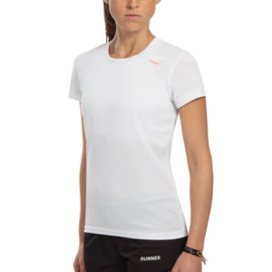 T-shirt tecnhique runnek milos woman white