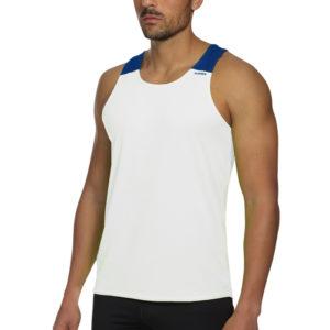 T-shirt with straps tecnhique vest white