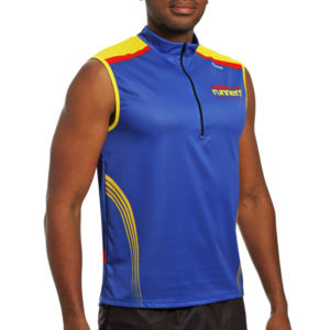 TRAIL T-SHIRT WITHOUT SLEEVES runnek buton 2