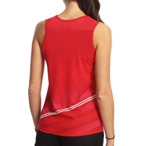 WOMEN'S ATHLETICS VEST WITH CLOSED BACK
