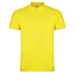 Polo Cotton yellow