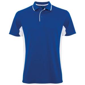 Polo Technique sport blue white