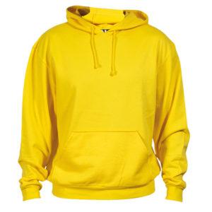 SWEATSHIRT cotton yellow