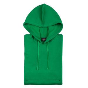 SWEATSHIRT technical hoody green