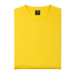 SWEATSHIRTS BASIC TECHNICAL HOODY yellow