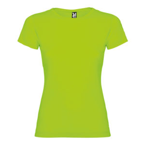 Cotton t-shirt woman green