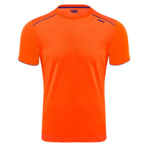 T-shirt tecnhique runnek ultra orange