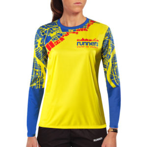 WOMEN'S LONG SLEEVE ATHLETICS T-SHIRT