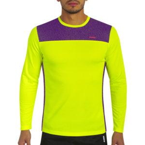 Long Sleeve T-shirt fast yellow neon