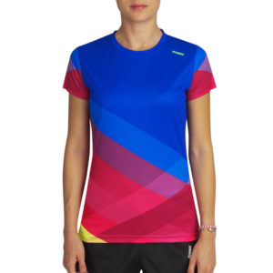 T-shirt tecnhique pure woman blue