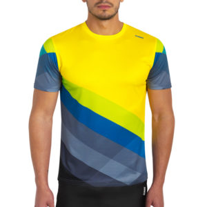 T-shirt runnek pure yellow